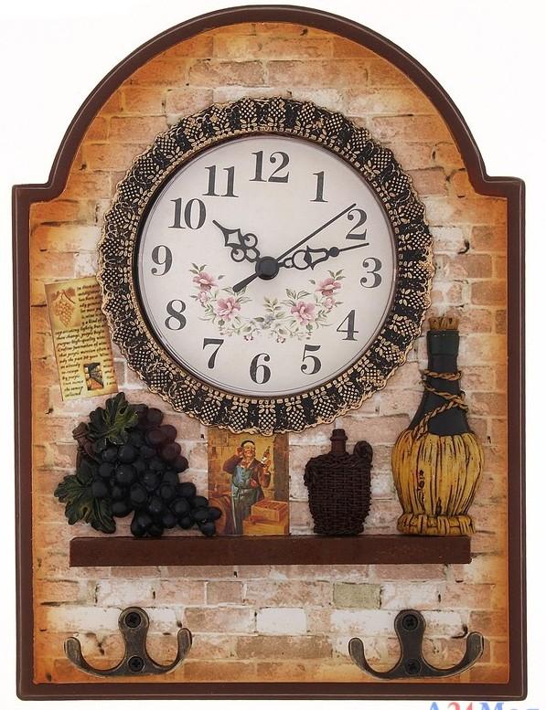 Оригинальные часы для кухни своими руками 58